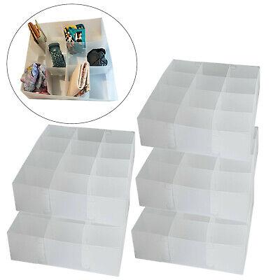 5x DynaSun PP51HA Transparentbox Mehrzweckbox Organizer Schrank Schubladenteiler ()