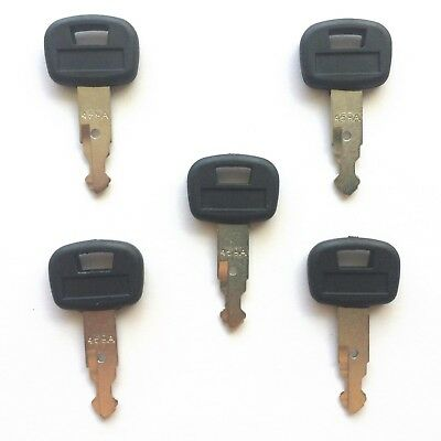 5 Kubota Mini Excavator Skid Steer Loader Heavy Equipment Ignition Keys 459a