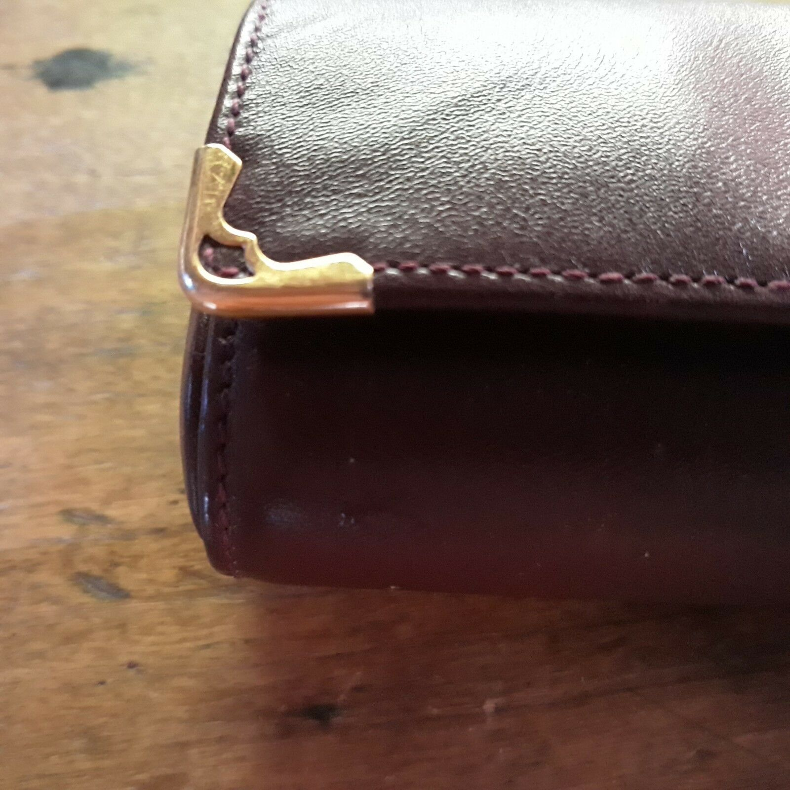 Cartier – etui a lunettes en cuir