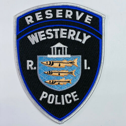 Westerly Police Reserve Rhode Island RI Patch (A1)