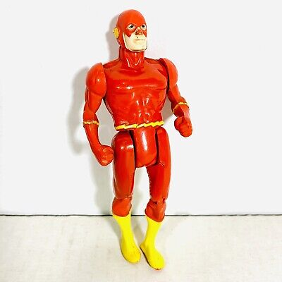 "Vintage 1984 The Flash DC Comics Super Powers Red Action Figure 4.25"" Kenner"