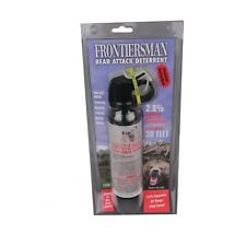 Frontiersman 30ft Bear Attack Deterrent Spray 7.9 OZ. W/ Belt Holster - FBAD-04