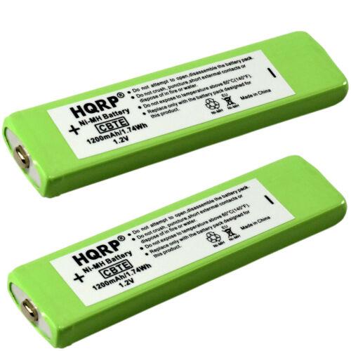 2-Pack 1200 mAh HQRP Battery for SONY Series CD MD MP3 / NC-5WM, NC-6WM, NH-14WM