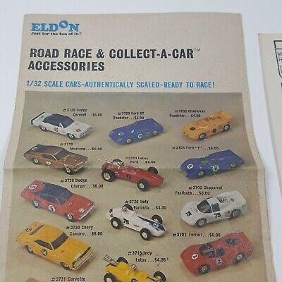Vintage Eldon Road Race Collect A Car Accessories Order Pamphlet 1960s
