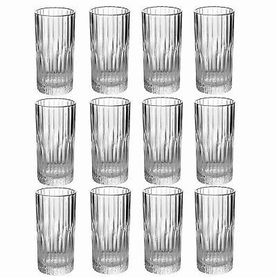Duralex Manhattan Vintage Collins Gin Highball Cocktail Glasses 305ml x12