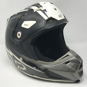 FOX Racing V2 Honor Glory Motocross Dirt Bike Helmet Adult Medium - NO VISOR