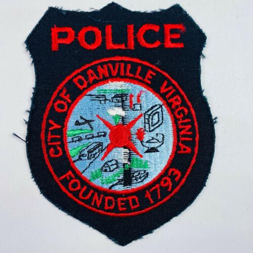 Danville Police Virginia VA Patch (A1-A)