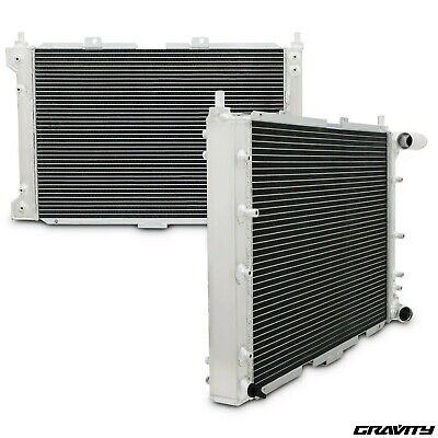 40mm ALLOY TWIN CORE RACE RADIATOR RAD FOR ALFA ROMEO 156 1.8 2.0 2.5 V6 97-06