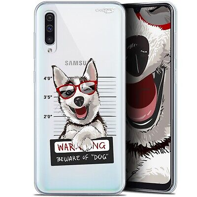 "Coque Gel Samsung Galaxy A50 (6.4"") Extra Fine - Beware The Husky Dog"