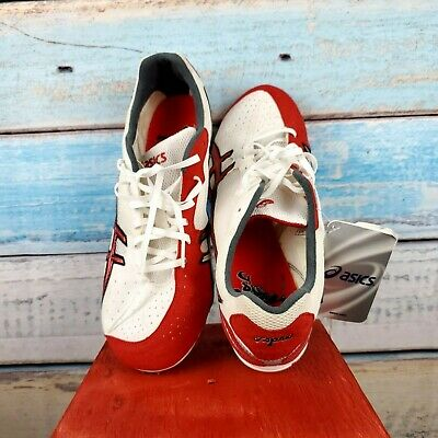 Aasics Track & Field Running Shoes Size 10 .5 Japan Thunder Red/White USA Seller