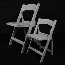 KIDS / CHILDRENS AMERICANA CHAIRS WHITE RESIN PADDED new for sale Allenby Gardens Charles Sturt Area Preview