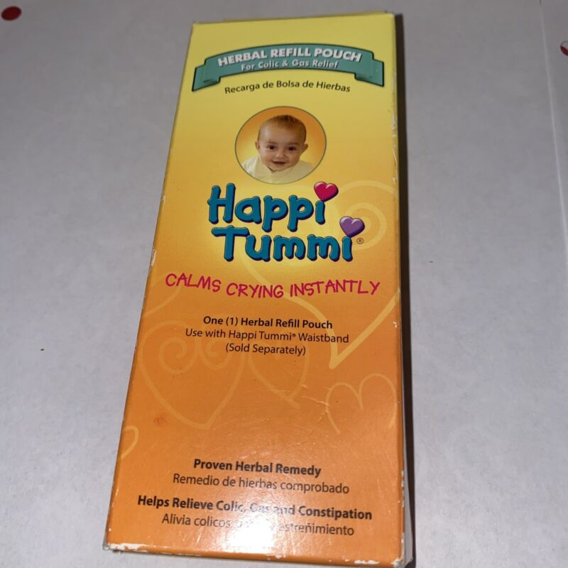 Happi Tummi Herbal Refill Pack - Relief For Infants And Babies With Colic, Gas,