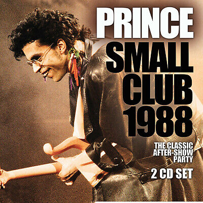 Live 2 Cd Set - PRINCE New Sealed 2019 UNRELEASED LIVE 1988 CONCERT 2 CD SET