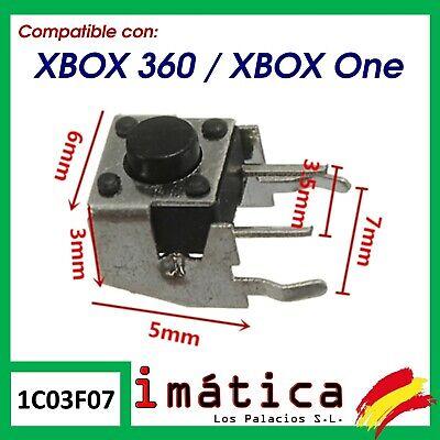BOTON LB RB MANDO XBOX 360 / ONE X-BOX SWITCH DERECHO IZQUIERDO...