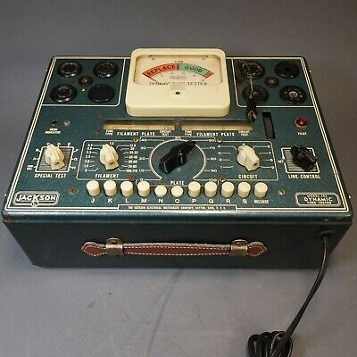 Vintage Jackson Model 103 Dynamic Tube Tester