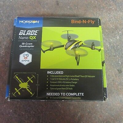 Bayonet Nano QX Mini Drone Missing Battery W/ Extra Propellers and Motors (G7)