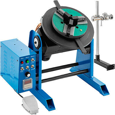 30kg Rotary Welding Positioner Turntable Timing 200mm Chuck Torch Holder 220v