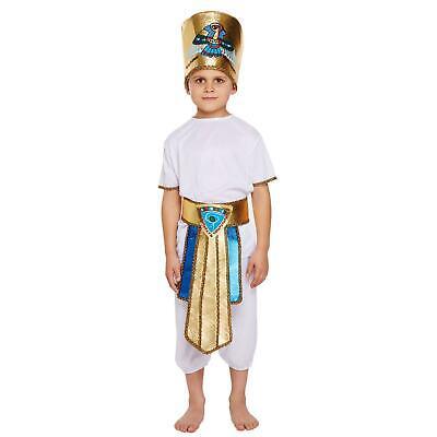 Ägyptischer Pharao Kostüm Tutankhamun Kinder Jungen Kostüm Kinder 4-12 - Pharao Kostüm Junge