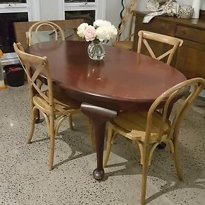 Tasmanian Blackwood Dining Table Milton Shoalhaven Area Preview