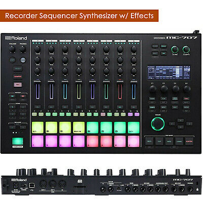 Roland MC-707 Groovebox Audio/MIDI Recorder Sequencer Synthesizer w/ Effects -UC