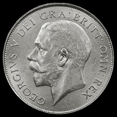 1924 George V Silver Shilling – Rare – A/UNC