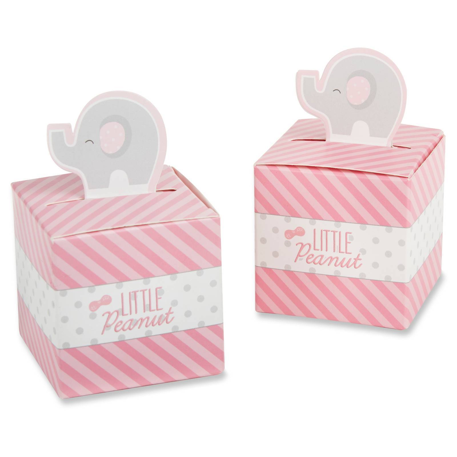24 Little Peanut Pink Elephant Baby Shower Birthday Party Favor ...
