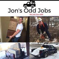 Jon's odd jobs. No job too odd.