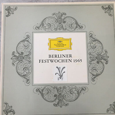 BERLINER FESTWOCHEN 1965: Musik des japanischen Bürgertums (DGG 004404-Promo/NM)