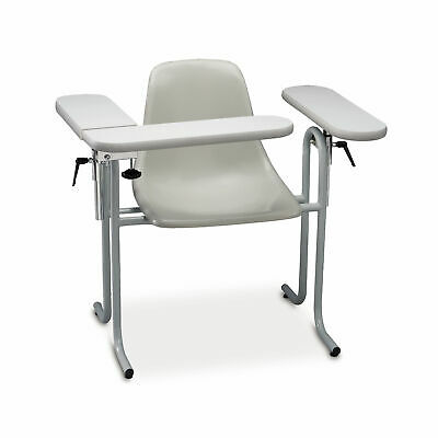 Plastic Blood Drawing Chair Flip Formica Arm 34w X 28l X 32h 1 Ea