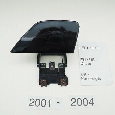 BMW 7er E65 E66 2001-2004 Left Side Headlight Washer Cover Sapphire Black