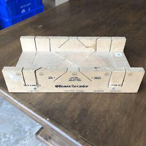 Beaver Mitre Box
