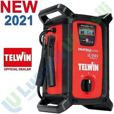 Avviatore Batteria Auto Tester 12V 24V TELWIN Professionale STARTZILLA 9024 XT