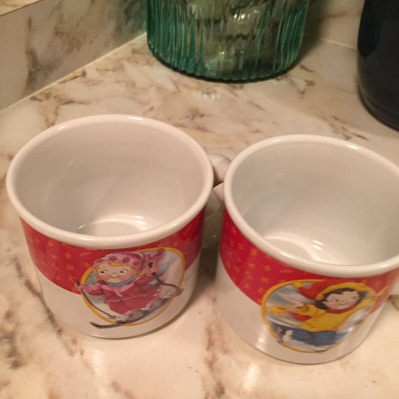 Limited Edition Campbells Soup Kids 2002 Olympic Set Two Of The Set