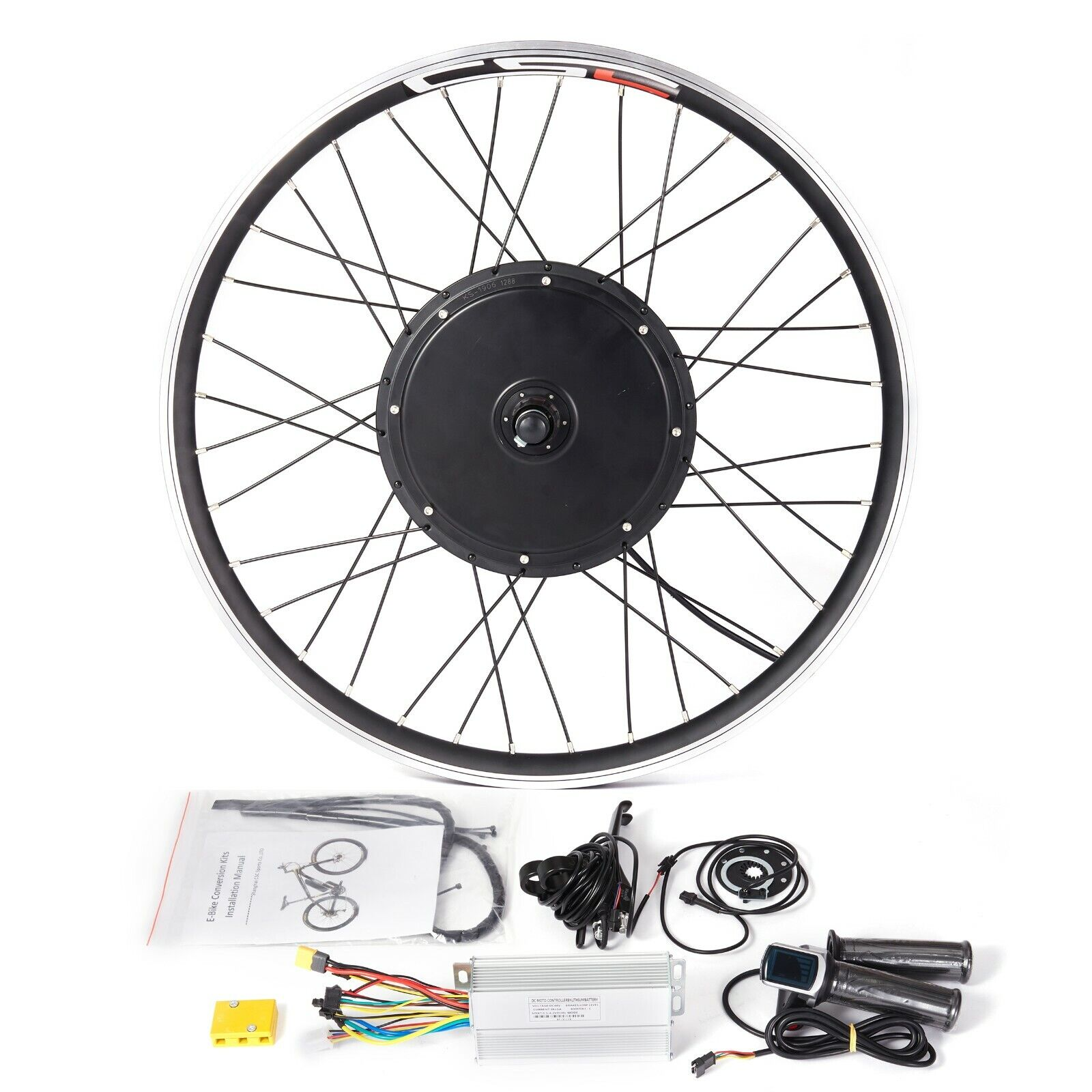 Ebike Front Rear Conversion Motor Kit MTB Bicycle Wheel 36V