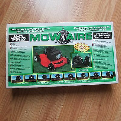 MOW-AIRE Lawn Aerating System -- Fits most gas (Mow Aerator)