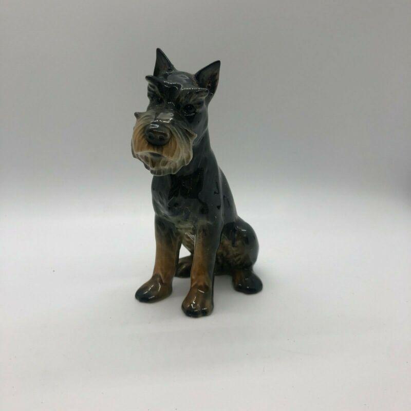 Vintage Goebel Schnauzer Dog Figurine.