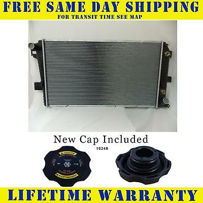 Radiator With Cap For Chevy Gmc Silverado Sierra 2500 Hd 3500 6.6 Diesel  2510WC