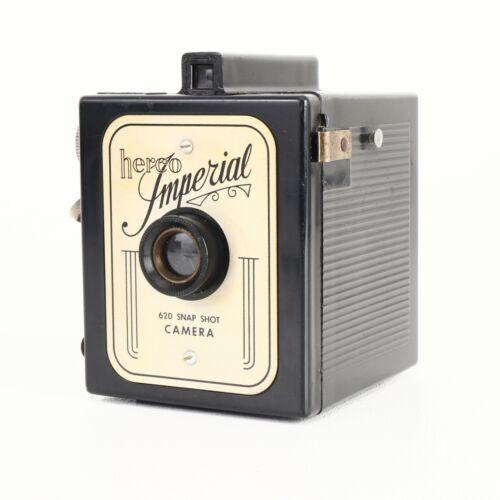 :Herco Imperial 620 Film Snap Shot Camera - Vintage Art Deco Style Bakelite