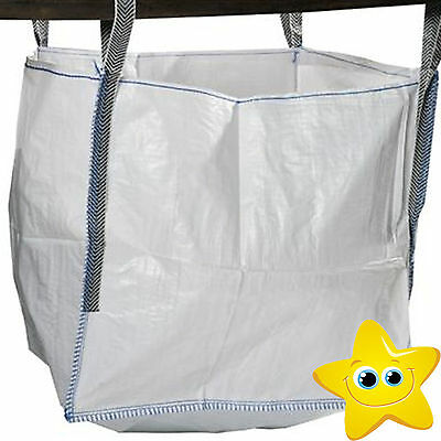 100 x 1 Ton  Bulk Bag Builders  Sack Tonne NEW Garden Waste Storage