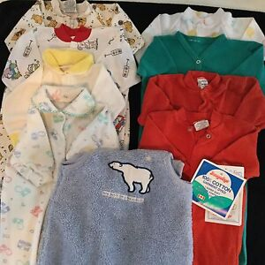 Boys 'Size 12 Months' Sleepers & Overalls!!