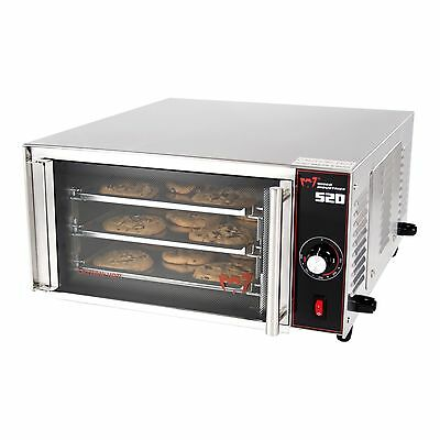 Wisco 520 Stainless Steel Commercial Counter Top Cookie Convection Oven Commercial Stainless Steel Oven