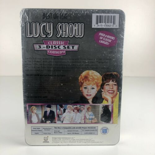 The Lucy Show Best Of The Lucy Show Classic Comedy 3-Disc Tin Box Set DVD 2007 - $9.95