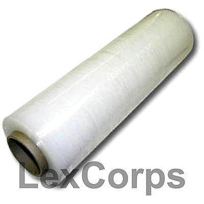 Stretch Wrap 1 Roll 18 X 1500 Feet 80 Gauge Move Pallet Luggage Plastic