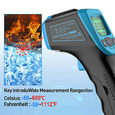 Non-contact Digital Infrared Thermometer Handheld Ir Point Laser Temperature Gun
