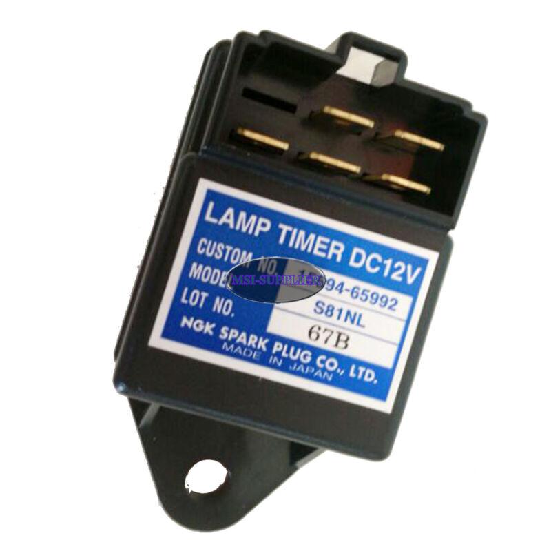 Genuine NGK Glow Plug Lamp Timer 12V Time Relay for Kubota 15694-65992 S81NL
