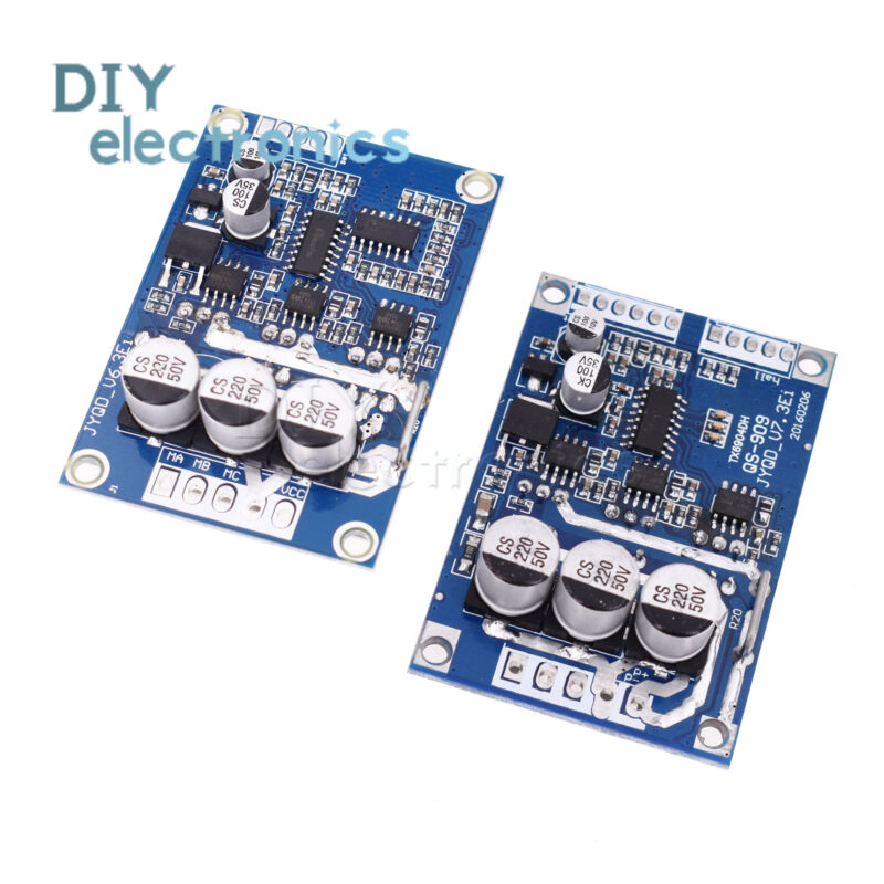 PWM DC 12V-36V 500W Brushless Motor Speed Controller Switch Driver Board L2KD