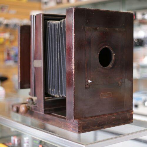 :Eastman Kodak Century No.10A 8x10 Wooden Large Format Camera w 5x7 Back
