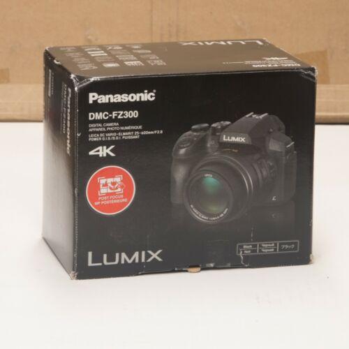 Panasonic LUMIX 12.1-Megapixel Digital Camera Black DMC-FZ300K