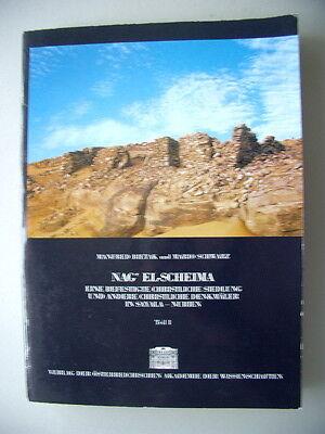 Nag' El-Scheima befestigte christliche Siedlung Denkmäler Sayala-Nubien 1987/T1