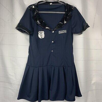 Officer Rita Dem Rites - Adult L 10-12 Sexy Police Cop Costume Cosplay Halloween